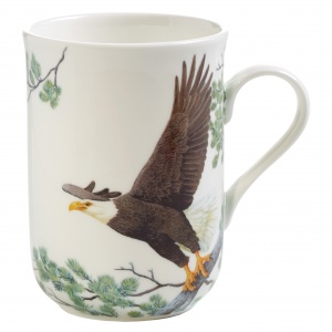 Maxwell and Williams, Birds of Europe Bone China, kubek 350 ml, orzeł