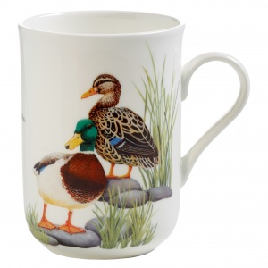 Maxwell and Williams, Birds of Europe Bone China, kubek 350 ml, kaczki