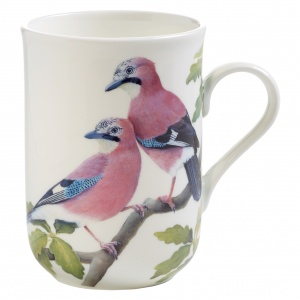 Maxwell and Williams, Birds of Europe Bone China, kubek 350 ml, sójki