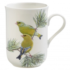 Maxwell and Williams, Birds of Europe Bone China, kubek 350 ml, dzwońce
