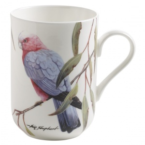 Maxwell and Williams, Birds of the World Bone China, kubek 350 ml, kakadu 2
