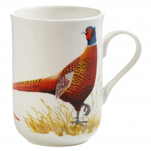 Maxwell and Williams, Birds of Europe Bone China, kubek 350 ml, bażant