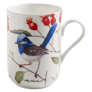 Maxwell and Williams, Birds of the World Bone China, kubek 350 ml, chwostka 2